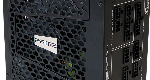 Alimentation Prime Platinum 850W de Seasonic