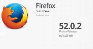 Navigateur Internet Firefox 52.0.2 de Mozilla