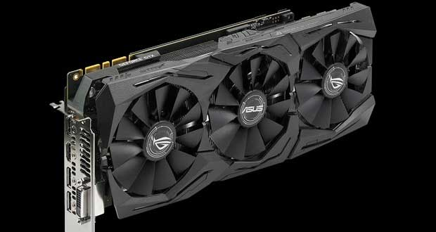 Carte graphique Asus ROG Strix GeForce GTX 1080 Ti