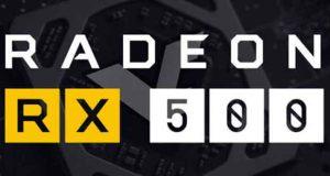 Carte graphique AMD Radeon RX 500 series