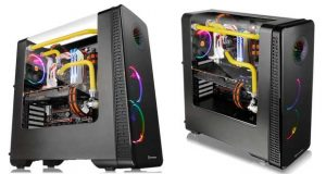 Boitier Thermaltake View 28 RGB Riing Edition Gull-Wing Window