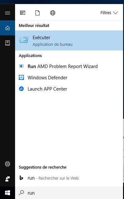 Windows 10, score de performance