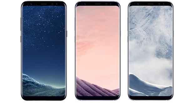 Smartphones Samsung Galaxy S8 et Galaxy S8+