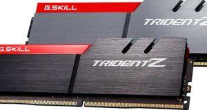 Kit mémoire G.SKill DDR4 Trident Z