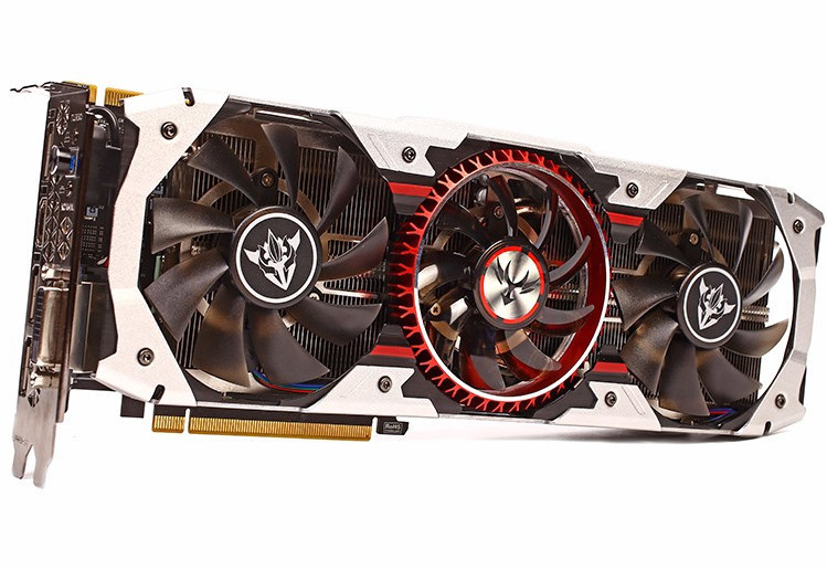 Carte graphique GeForce GTX 1080 Ti iGame Vulcan AD de PowerFul