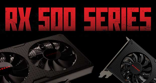 Carte graphique Radeon RX 500 series d'AMD