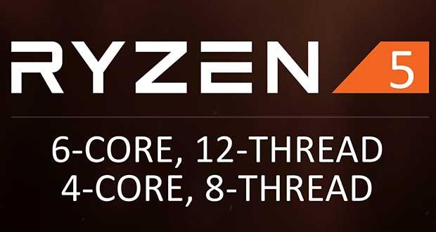 Processeur Ryzen 5 d'AMD