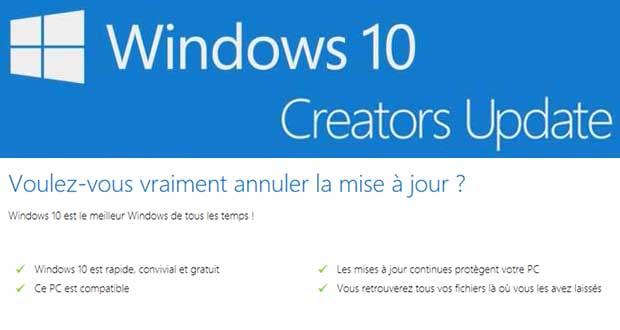 Windows 10 Creators Update - Microsoft annonce que Windows est gratuit