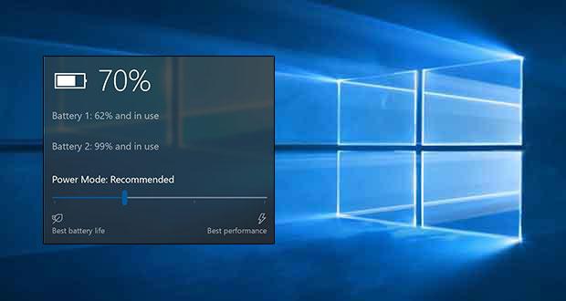 Windows 10 Redstone 3 - Le Power Throttling