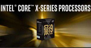 Processeur Core i9 X-serie d'Intel