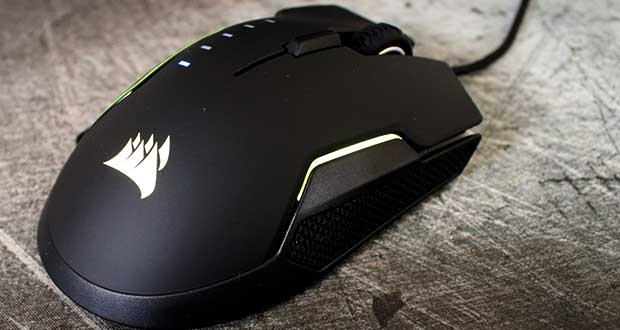 Souris gaming Glaive RGB de Corsair