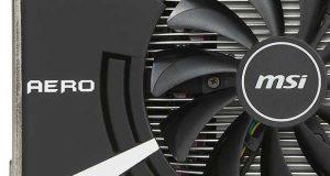 Radeon RX 560 Aero ITX de MSI