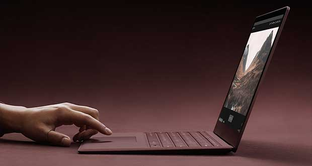 Surface Laptop sous Windows 10 S de Microsoft