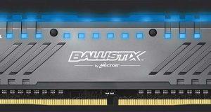 Mémoire Tactical Tracer DDR4 RGB de Crucial