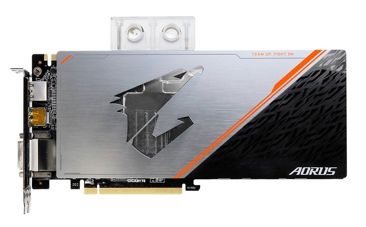 GeForce GTX 1080 Ti WaterForce WB Xtreme Edition d'Aorus