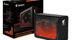 AORUS GTX 1070 Gaming Box de Gigabyte