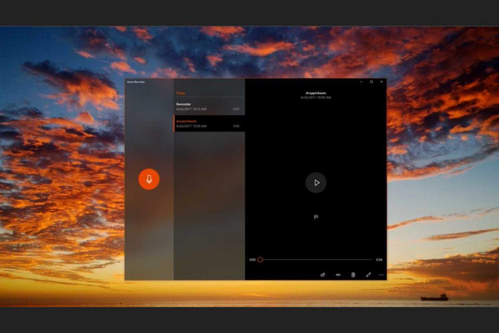 Windows 10 et le Fluent Design – Acrylic Material
