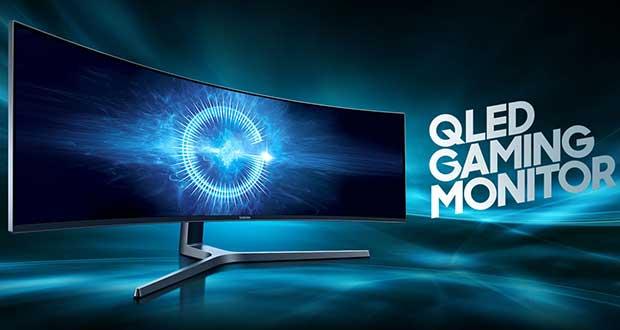 Moniteur Samsung CHG90 QLED Gaming