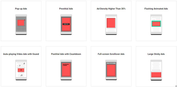 Navigateur Chrome - anti-pub sur Mobile