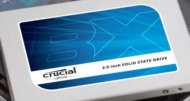 Disque SSD BX300 de Crucial