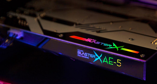 Carte son Sound BlasterX AE-5 de CreativeCarte son Sound BlasterX AE-5 de Creative