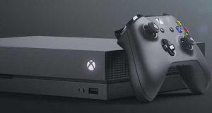 Console Xbox One X de Microsoft