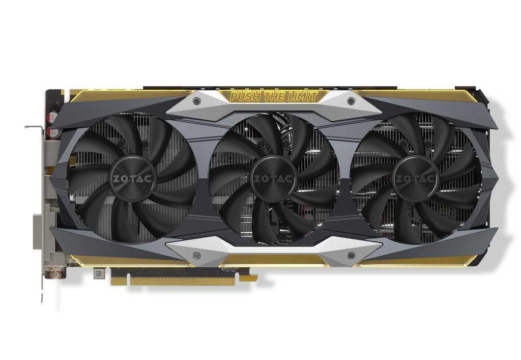GeForce GTX 1080 Ti AMP! Extreme Core Edition de Zotac