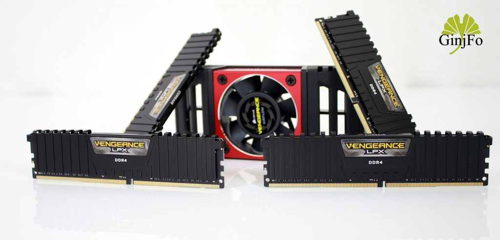 Kit 64 Go Vengeance LPX DDR4-3600 de Corsair
