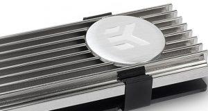 Dissipateur thermique EK-M.2 NVMe Heatsink - Nickel de EKWB