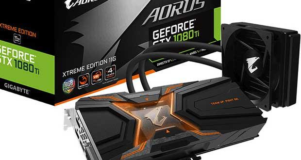 Carte graphique Aorus GeForce GTX 1080 Ti WaterForce Xtreme