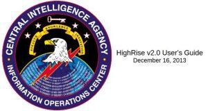 HighRise de la CIA - Manuel d'utilisation