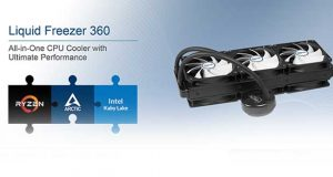 Watercooling AIO Liquid Freezer 360 d'Artic