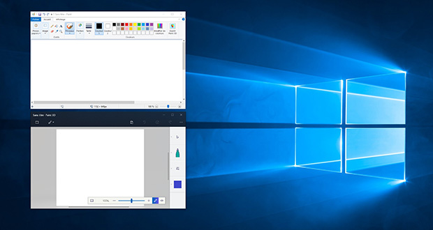 Applications Paint et Paint 3D sous Windows 10