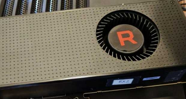Carte graphique Radeon RX Vega d'AMD