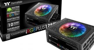 Alimentation Toughpower iRGB PLUS 1250W de Thermaltake
