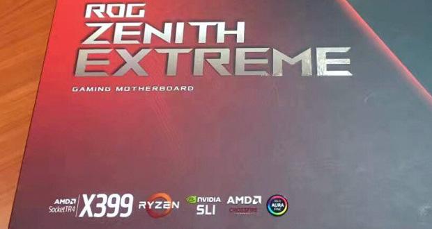 Carte mère X399 ROG Zenith Extreme