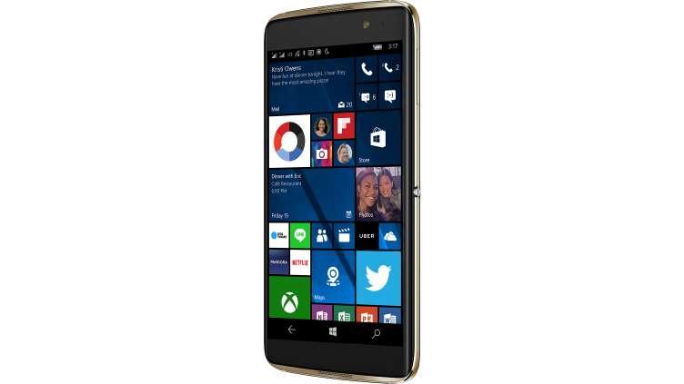 windows 10 mobile microsoft fracasse le prix de l alcatel idol 4 pro ginjfo. Black Bedroom Furniture Sets. Home Design Ideas