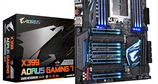 Carte mère Gigabyte X399 Aorus Gaming 7