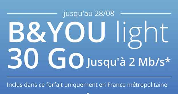 Forfait Light de B And You