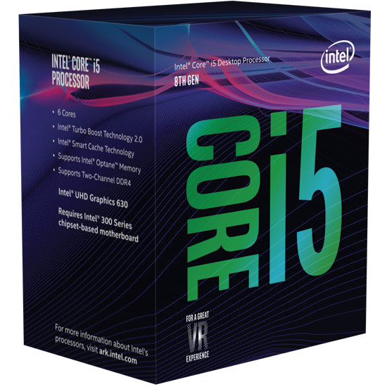 Processeur Intel Core i5 Coffee Lake