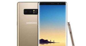Smartphone Galaxy Note 8 de Samsung