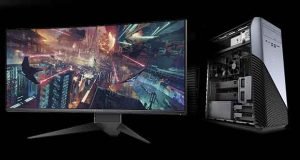 Moniteurs gaming Alienware AW3418DW et AW3418HW - PC Inspiron Gaming de Dell