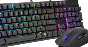 MS120 : Un pack gaming avec clavier mem-chanical et souris signé Cooler Master