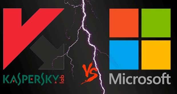 Kaspersky contre Microsoft