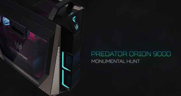 PC Gaming Predator Orion 9000 d'Acer