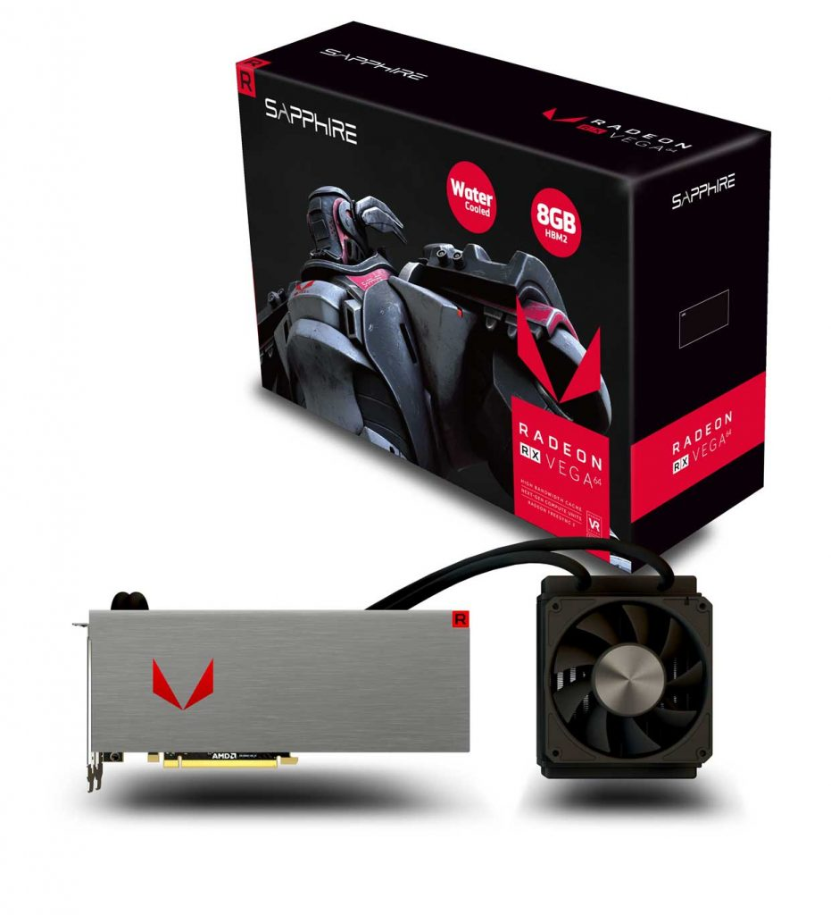 Radeon RX Vega 64 8GB HBM2 Liquid Cooled