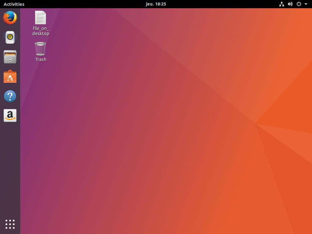 Distribution Linux Ubuntu - L'environnement GNOME avec l'Ubuntu Dock