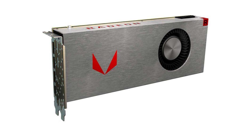 Carte graphique Radeon RX Vega Aircooling Silver