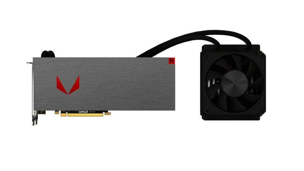 Carte graphique Radeon RX Vega Watercooling Silver