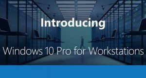 Système d'exploitation Windows 10 Pro for Workstations de Microsoft